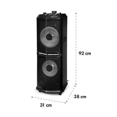 """Аудиосистема DJ Party Bluetooth 8000 Вт PMPO 10 """"Woof"""