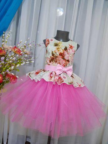 Красивое пышное нарядное платье сукня плаття выпускной рестро стиляги