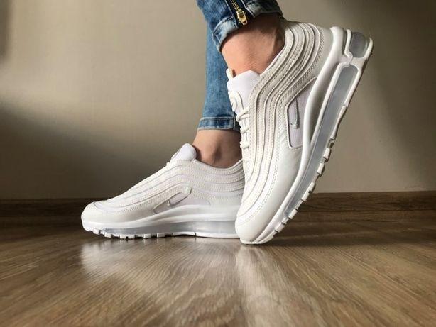 Nike Air Max 97. Rozmiar 37. Kolo biały. Modne