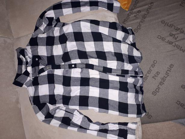 HM Mama Zestaw ciążowy S/M bluzki tuniki sukienka 9 szt.