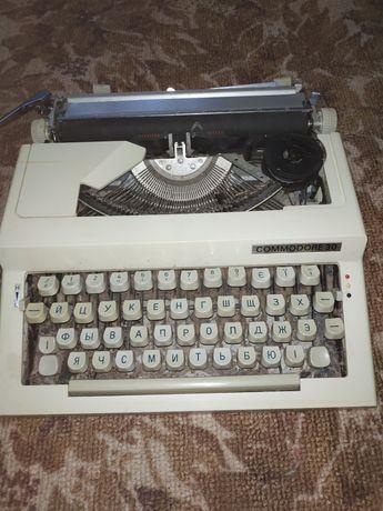 Раритетная пишущая машинка