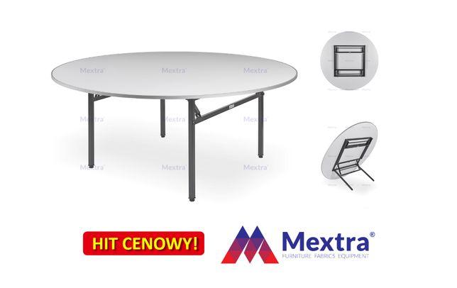 Stół bankietowy DORA -R (fi 155cm), stoły składane