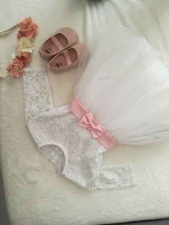 Sukienka komplet  roczek ,chrzest , wesele