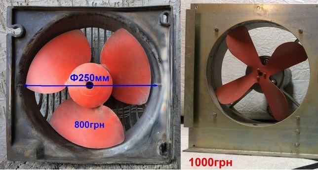 вентилятор вытяжной 700м3/час с двигателем АВЕ-042-2М