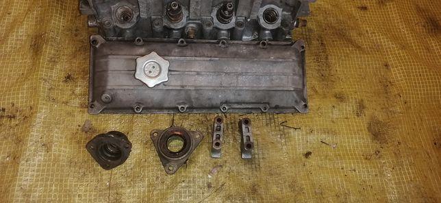 ГБЦ фиат 1,7-1,9 дизель розбор разпредвал,флянец,крышка,бугеля,клапан