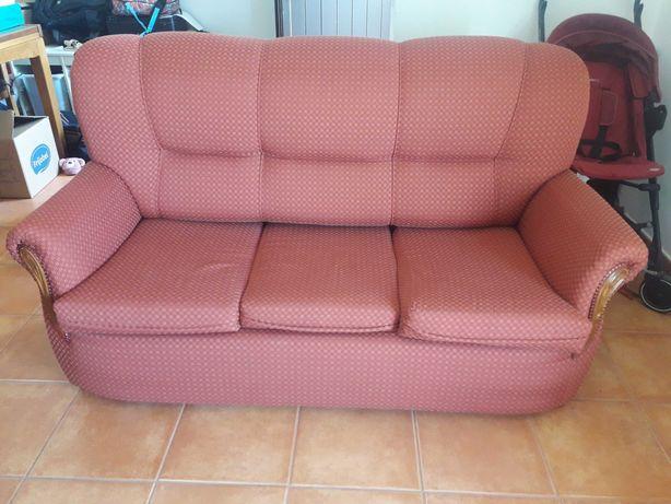 Sofa cama + 2 maples