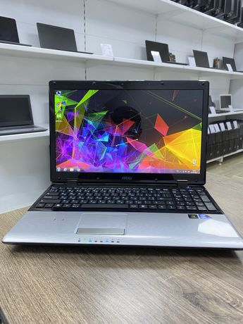 Бюджетный Игровой Ноутбук MSI (I3-350M/4/320/GT310M-1GB)