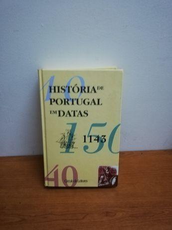 Livro de história e datas de Portugal