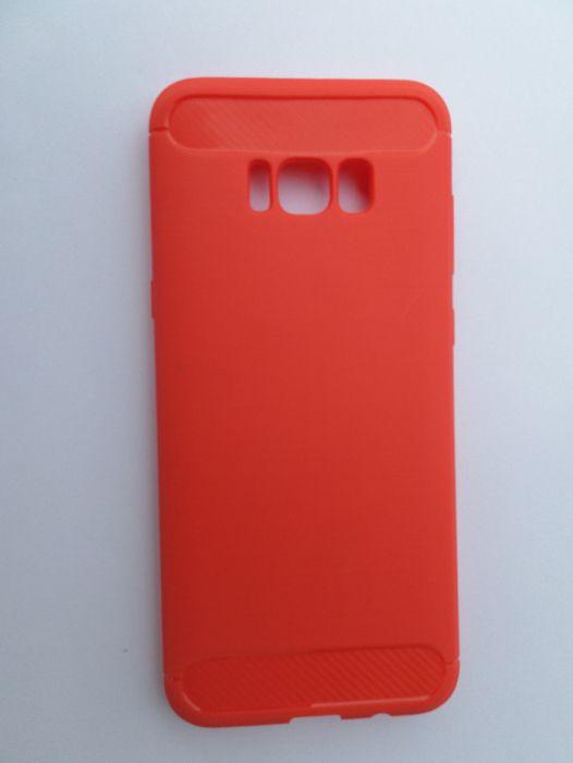 Capa Silicone p/ Samsung S8 Plus - Vermelho Vila Verde - imagem 1