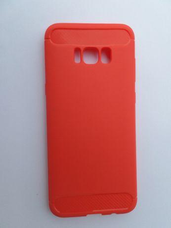 Capa Silicone p/ Samsung S8 Plus - Vermelho