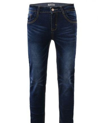 Классные джинсы для мальчика glo-story в размере 134