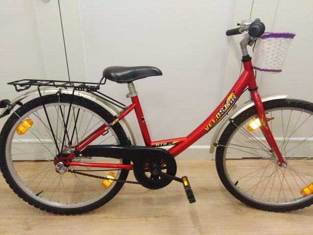 Rower dla dzieci rowerek 24 cali biegi z biegami niemiecki ładny
