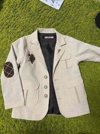 Пиджак детский на 5-7 лет