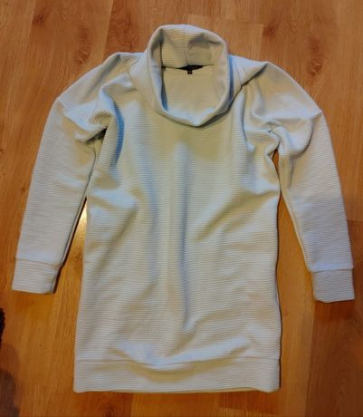 Sukienka oversize z golfem baby blue Top Secret M