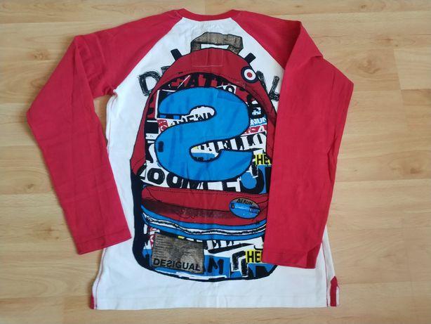 Koszulka i dżinsy (H&M) r. 152