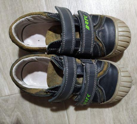 Кожаные туфли кроссовки Bartek Камуфляж Отличные! Польша Классные туф