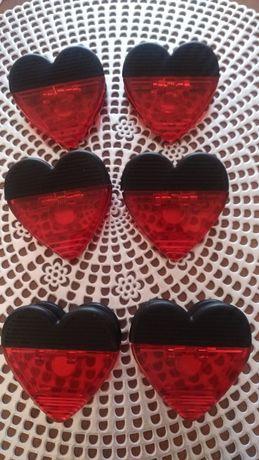 Magnesy na lodówkę Walentynkowe