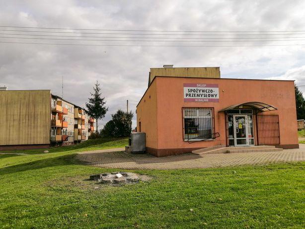 Budynek / lokal handlowy - usługowy - sklep - działka . Balin Rypin