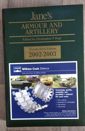 Jane's Armour and Artillery twenty third edition 2002-3