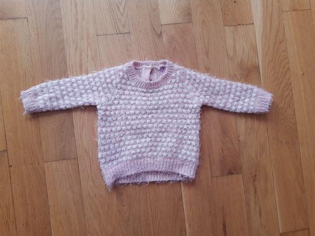 Śliczny sweterek F&F 3-6msc