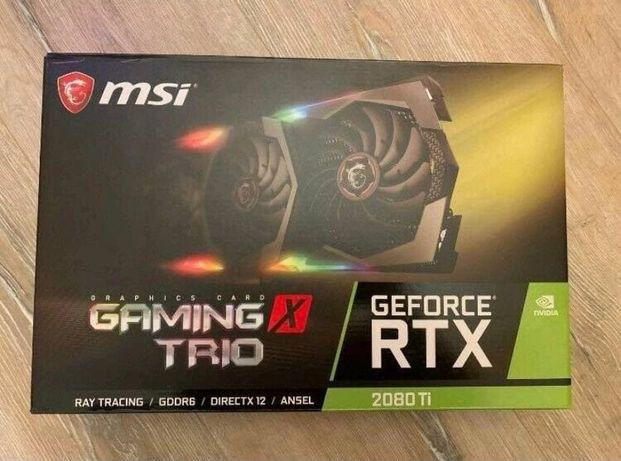 MSI Gaming X Trio Geforce RTX 2080Ti