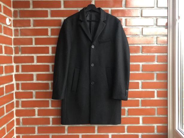 H&M новое мужское шерстяное пальто размер L х м б у