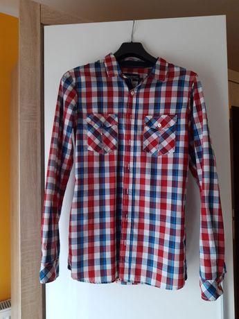 Koszule męskie kolorowa i biała