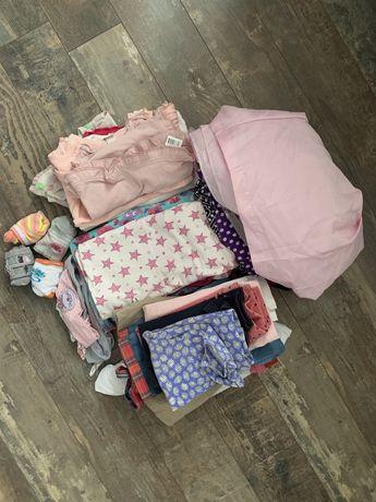 Paka ubranek dla dziewczynki 86-98