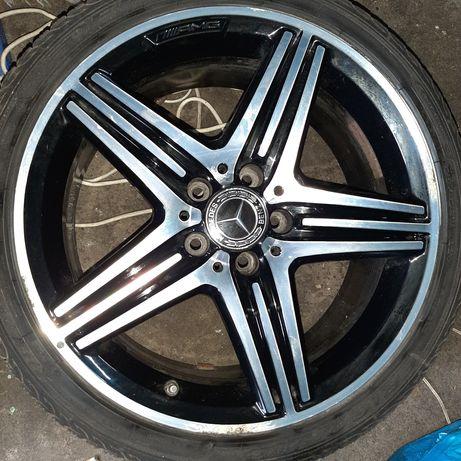 Opony +felgi aluminiowe Mercedes CLA