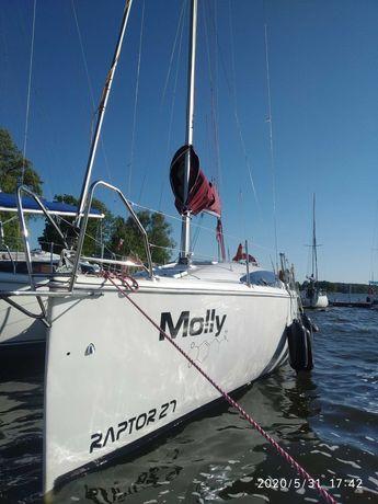 Raptor 27  Twister 830  czarter jachtu na jezioraku WOLNE TERMINY