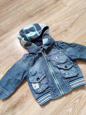 Bluza, kurtka jeansowa niemowlęca 9 - 12mcy