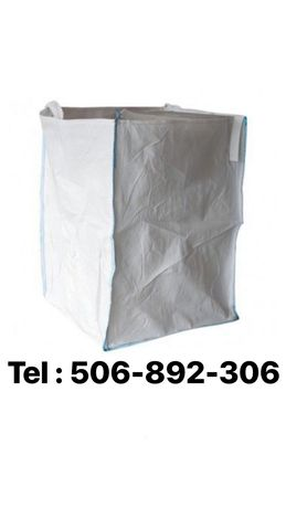 Worki BIG BAG mocne czyste na owies pszenicę 102x100x125