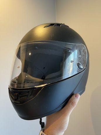 Kask motocyklowy HJC CS-15 matowo czarny [XL]