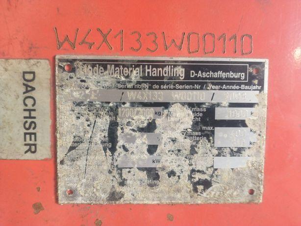 Linde L12L paleciak masztowy na czesci