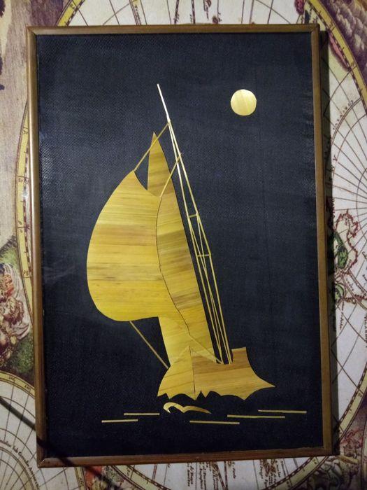 Картина из соломки Одесса - изображение 1