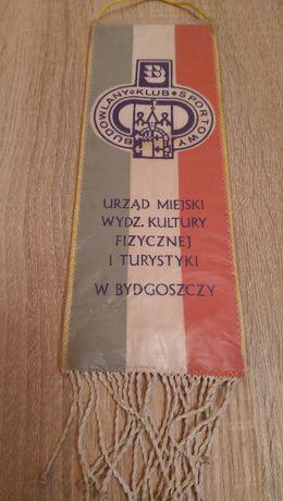 Proporczyk Budowlany Klub Sportowy Bydgoszcz (Kolekcja z PRL)