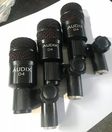 Audix D4.Микрофоны для барабанов.