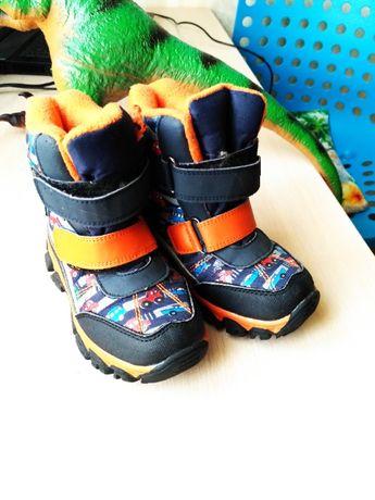 Зимние Термо Ботинки Для Мальчика С-Т09-04-В , Том.М, Размер 27