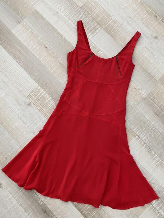Versace czerwona koktajlowa sukienka Rzeszów - image 1
