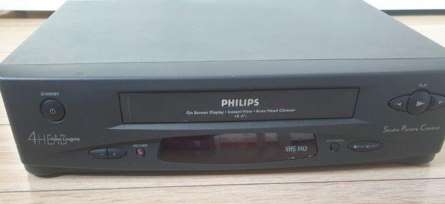Odtwarzacz VHS PHILIPS Zobacz