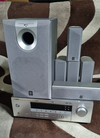 Kino domowe Yamaha rxv350 zestaw 5.1