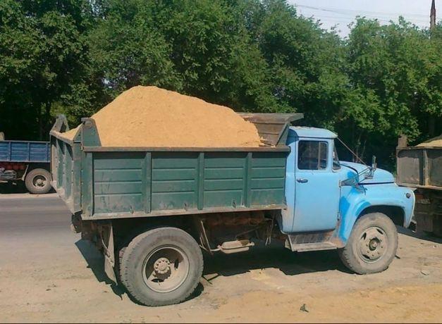 Песок строительный, щебень, отсев, Вывоз мусора.