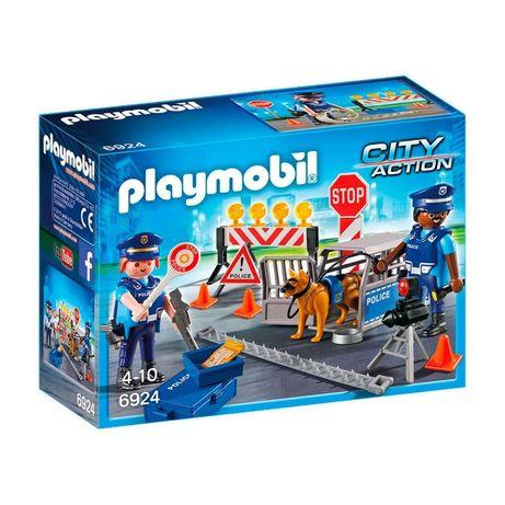 Playmobil 6924 Controle Policial - NOVO