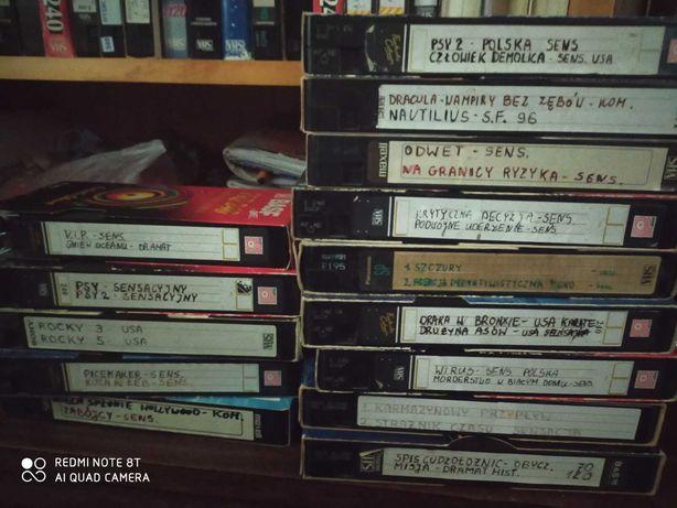 Sprzedam kasety VHS