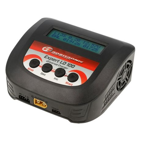Carregador Robitronic LD 100 Expert LiPo 2-4s 10A 100W