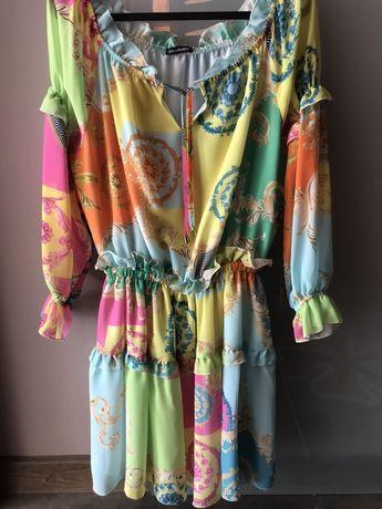 Sukienka a'la versace
