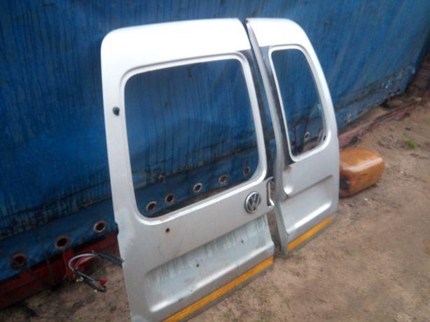 Volkswagen Caddy 2 II drzwi tylne Seat Inca klapa zdrowe