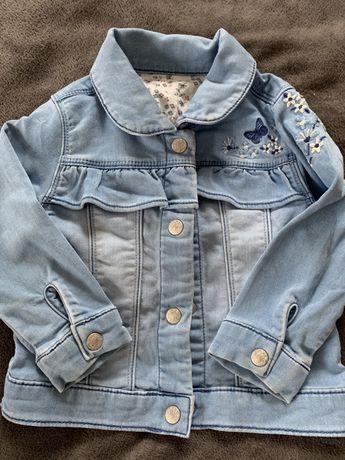 Джинсова курточка 18-24 міс(1,5 - 2 рочки)