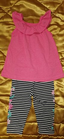 Очаровательный комплект Carter's для маленькой принцессы!!!