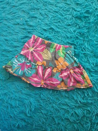 Spódniczka kwiatki carter's krótka spódnica